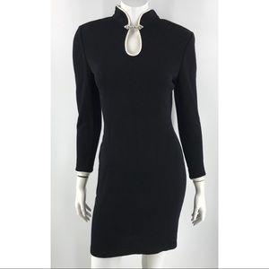 ST JOHN Evening by Marie Gray Black Formal Dress
